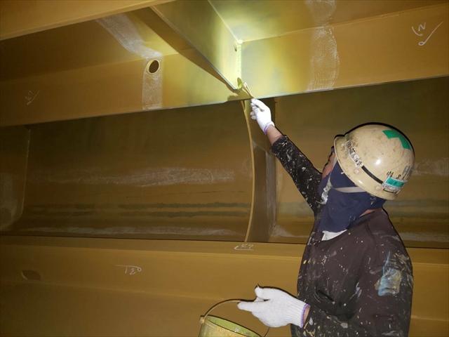 船舶塗装業の技術においてお客様より高い評価を得ております